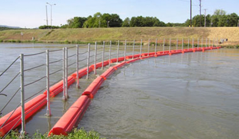 Floating Security Barriers by Tuffboom