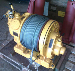 2000 lb Air Winch Ingersoll Rand