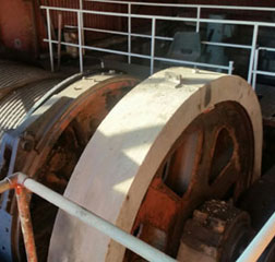 Slipway Winch 900 ton Hydraulic