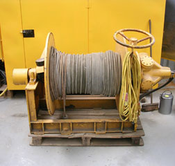 3 ton Staffa Hydraulic Winch