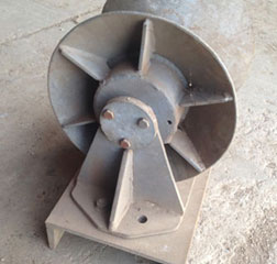 Bow Roller Galvanised