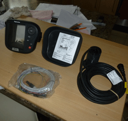 Raymarine fish finder DS500X