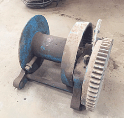 Wire Winch Dogged
