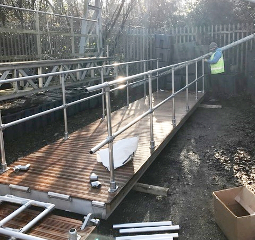 Aluminium Gangway 7m (Brand new cancelled order)