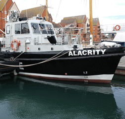 "Patrol and Research Vessel 13.5m ""Alacrity"" Road Transportable