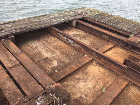 Concrete Pontoon Base 14m x 7.2m